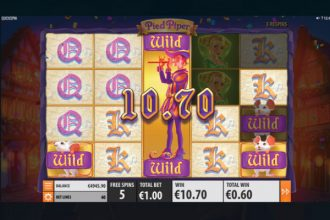 Quickspin Pied Piper Slot Free Spins