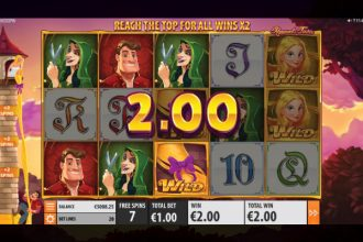 Rapunzels Tower Online Slot Free Spins