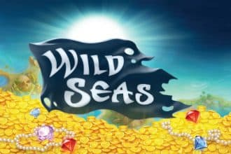 Wilds Seas Slot Logo
