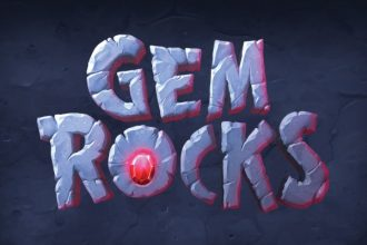 Gem Rocks Slot Logo