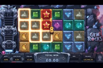 Gem Rocks Slot Machine Online