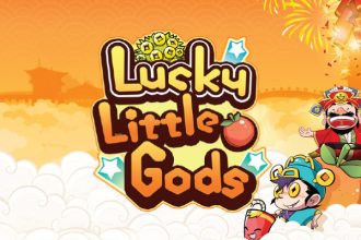 Lucky Little Gods Slot Logo