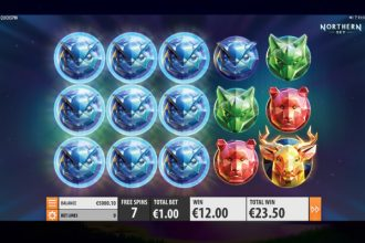 Northern Sky Slot Free Spins