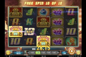 Planet Fortune Slot Free Spins Win