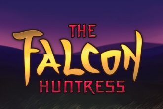 The Falcon Huntress Slot Logo