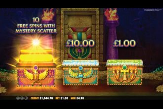Ancient Egypt Slot Bonus Picker