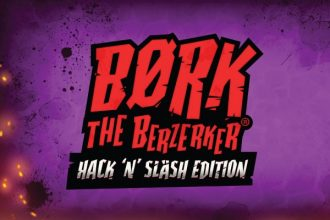 Bork The Berzerker Slot Logo
