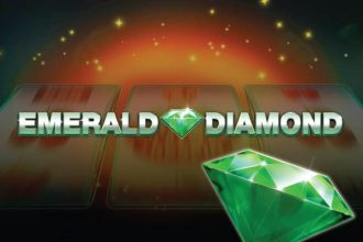 Emerald Diamond Slot Logo