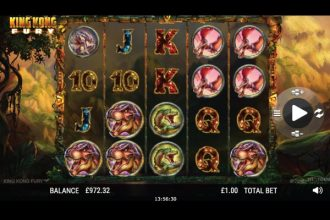 King Kong Fury Slot Machine Online