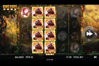 NextGen King Kong Fury Slot Stacked Wilds