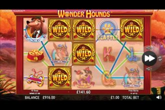 NextGen Wonder Hounds Slot Free Spins Bonus