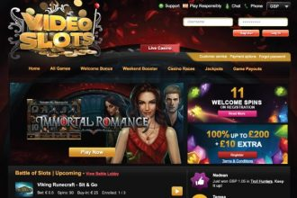 Videoslots Casino Online Site With Bonus