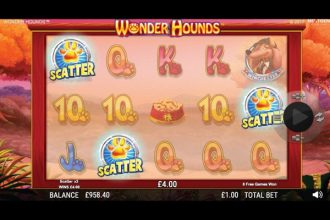 Wonder Hounds Slot Bonus Scatters