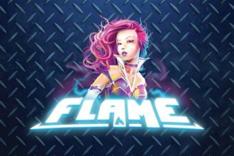 Flame Slot Logo