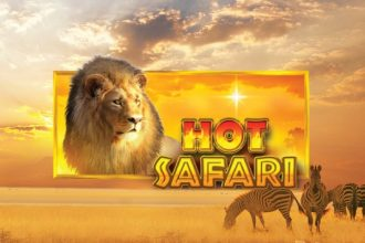 Hot Safari Slot Logo