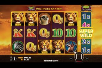 Hot Safari Slot Super Wilds Feature