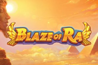 Blaze of Ra Slot Logo