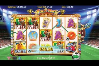 Foxin Wins Football Fever Slot Free Spins