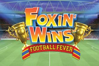 Foxin Wins Football Fever Slot Logo