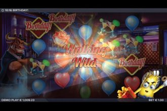 Birthday Slot with Walking Wilds