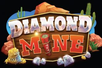 Diamond Mine Slot Logo