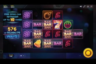 Laser Fruit Slot With Expanding Reels