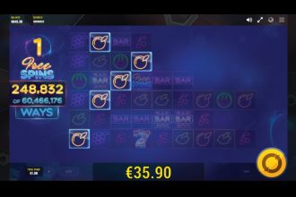 Laser Fruit Slot Free Spins