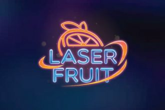 Laser Fruit Slot Logo