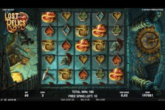 Lost Relics Slot Free Spins