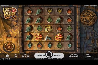 Lost Relics Slot Machine Online