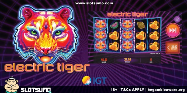 Electric Tiger New Slot Release