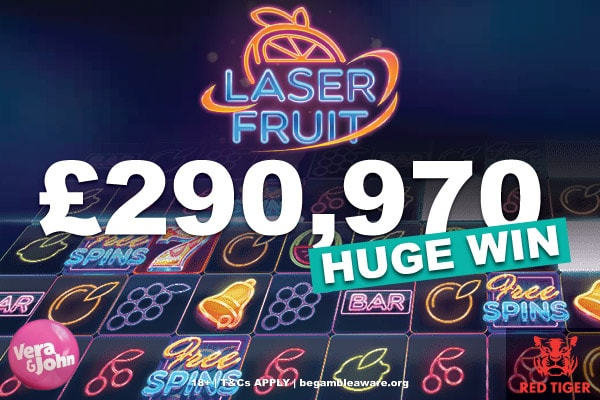Laser Fruit Slot Big Win & Vera&John Casino