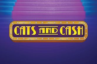 Cats and Cash Slot Logo