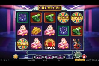 Cats and Cash Slot Machine Online