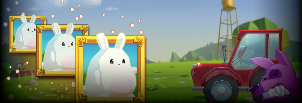 Fat Rabbit Background Image
