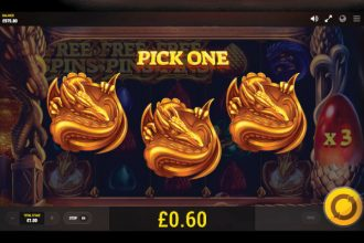 Dragons Fire Slot Free Spins Pick