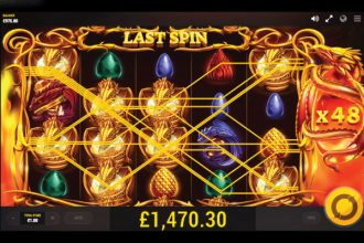 Dragons Fire Slot Free Spins Win