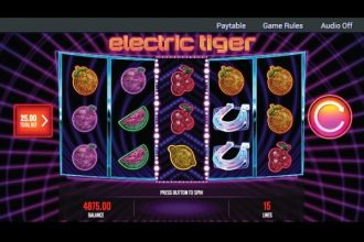 Electric Tiger Slot Machine Online