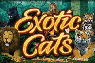 Exotic Cats Slot Logo