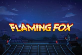 Flaming Fox Slot Logo