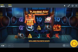 Flaming Fox Slot Machine Online