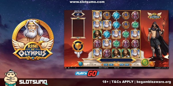 Rise of Olympus New Slot Release