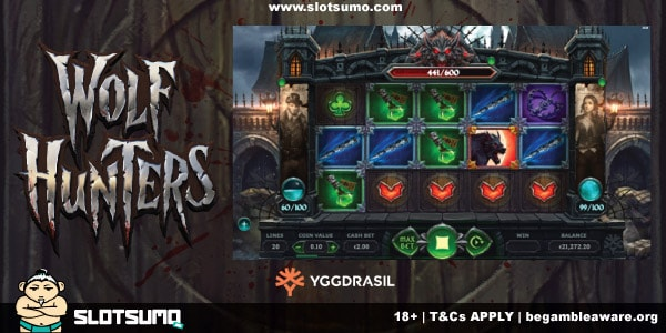 Wolf Hunter New Slot Release