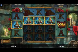 Wicked Tales Dark Red Slot Free Spins