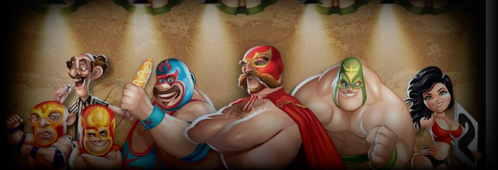 Lucha Legends Background Image