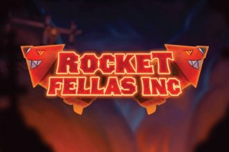 Rocket Fellas Inc Slot Logo