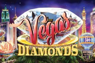 Vegas Diamonds Slot Logo