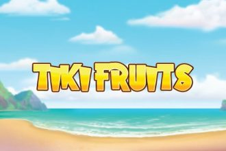 Tiki Fruits Slot Logo