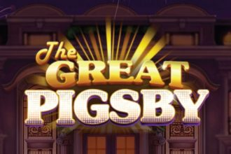 The Great Pigsby Slot Logo