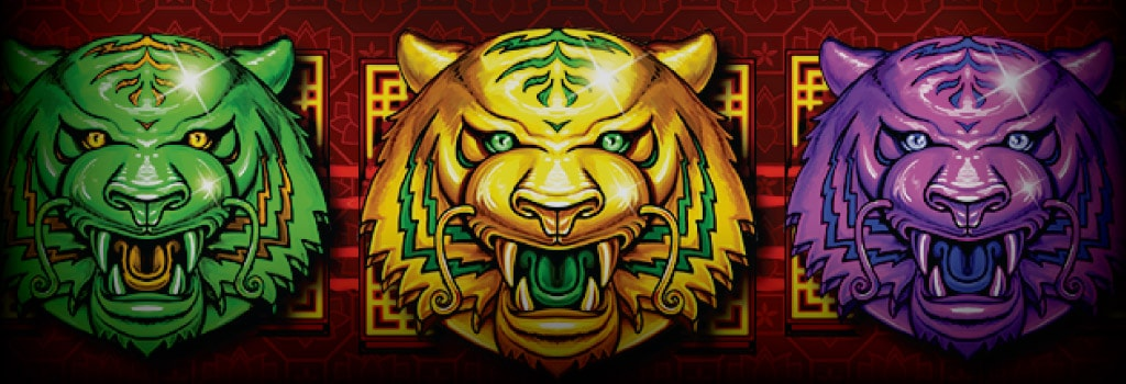 Triple Tigers Background Image